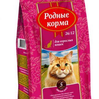 РОДНЫЕ КОРМА, сухой корм для кошек, МЯСНОЕ РАГУ, 409 г