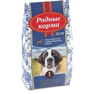 РОДНЫЕ КОРМА, сухой корм для собак КРУПНЫХ пород, 16,38 кг
