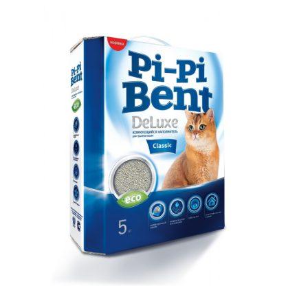 Pi-Pi-Bent Deluxe (ПИ ПИ БЕНТ ДЕЛЮКС), комкующийся наполнитель, КЛАССИК, 5 кг