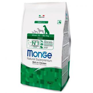 МОНЖ Дог, сухой корм, для щенков крупных пород собак, 3 кг